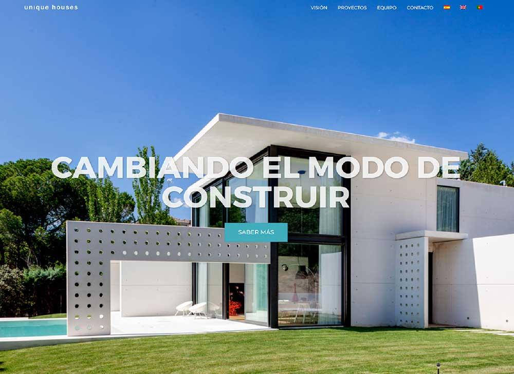 web-unique-houses-arquitectura