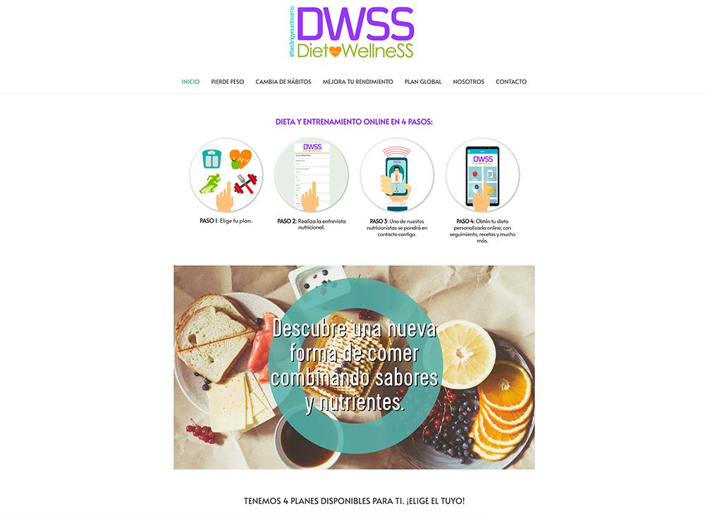 Servicios de nutrición online